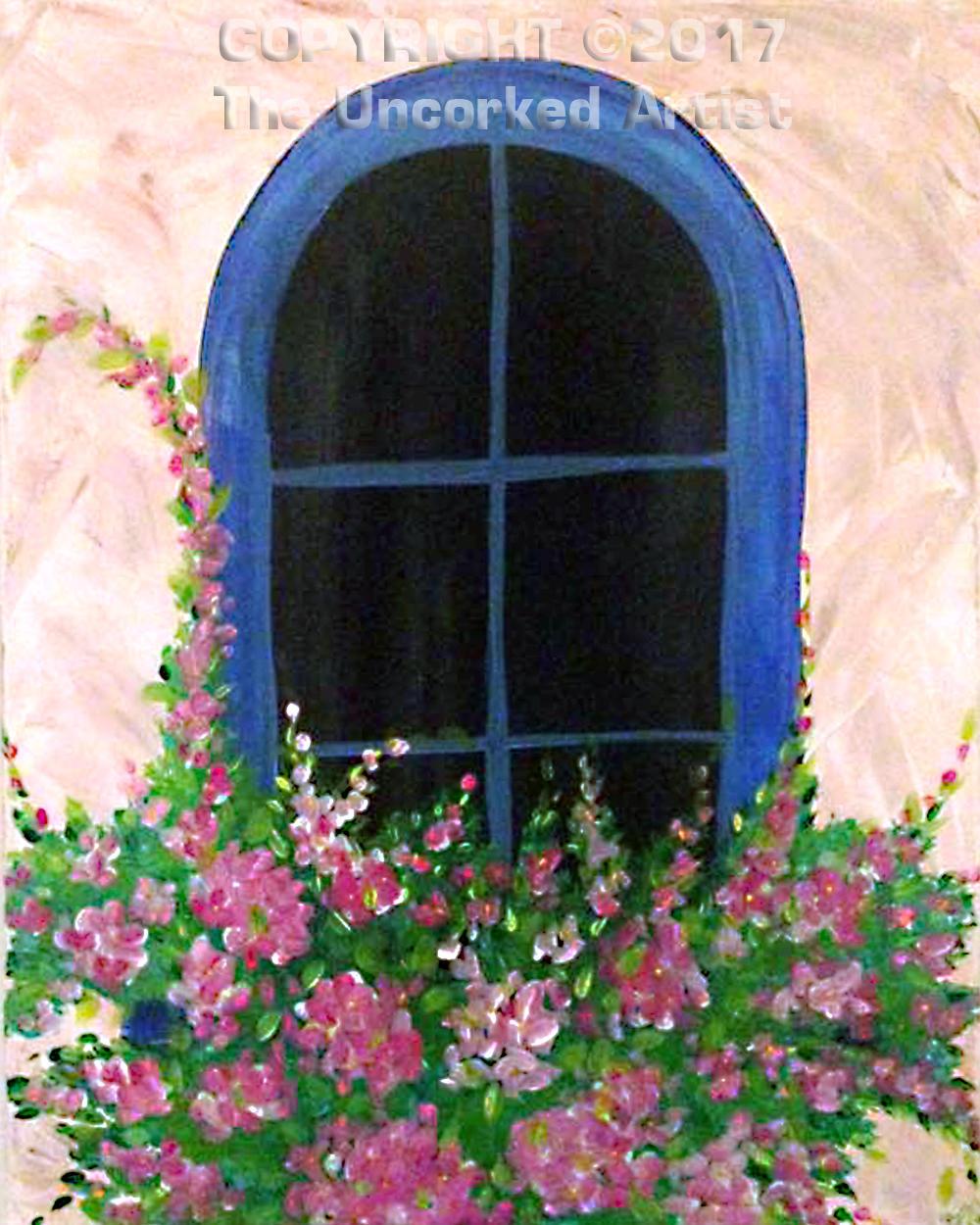 Tuscany Window (#474) • Created by Rebecca • 16×20 • Tier 3