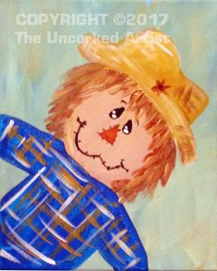 Mini Scarecrow Boy