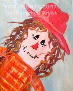 Mini Scarecrow Girl
