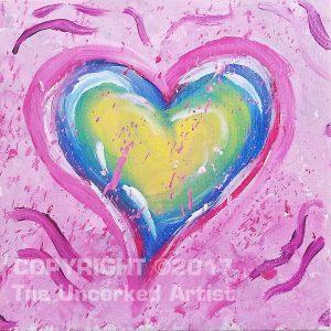 Mini Splatter Heart