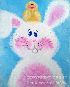 Fluffy Bunny (#402) • Designed by Rebecca • 16x20 • Tier 2