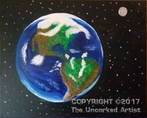 The Earth (#495) • Created by Sherri • 16×20 • Tier 2