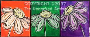 Whimsy Daisy Trio Minis (#483) • Created by Michelle • 8×10s • Tier 3