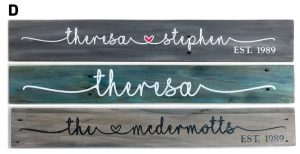 $35 Wood (Pallet available) • Script Name • 4