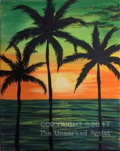 Green Skies (#493) • Created by Rebecca • 16×20 • Tier 3