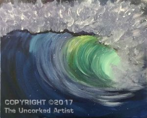Ocean Wave (#498) • Created by Mandy • 16×20 • Tier 3