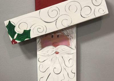 Santa Wall / Doorhang