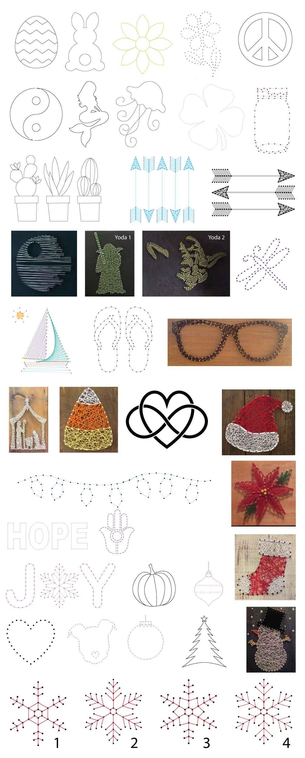 String Art Take Home Kit