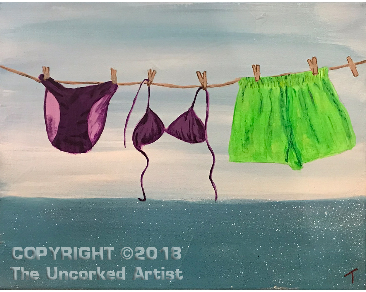 Summer Swim Suits (#503) • Created by Tara • 11×14 • Tier 3