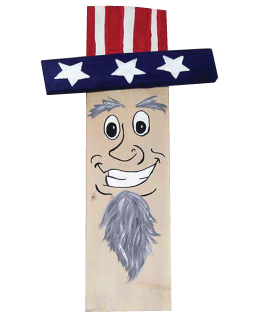 Uncle Sam Pallet (P008) • Created by Mandy • 9×24 • Tier 3