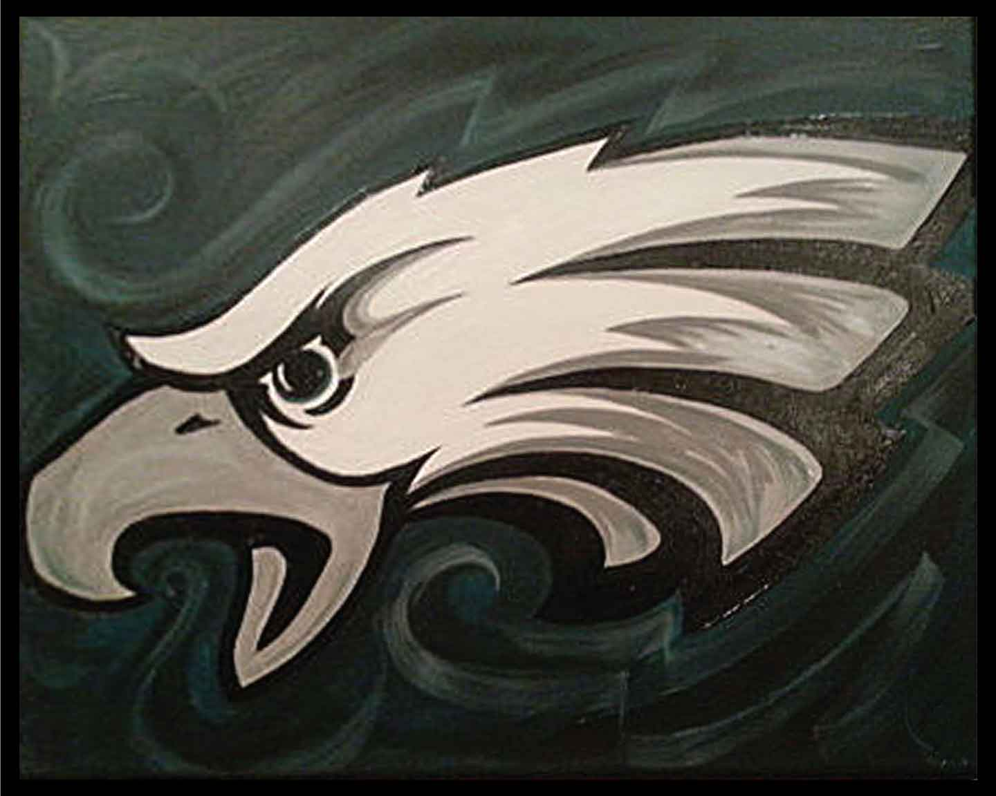 Eagles Fan (#516) • Created by Tara • 16x20 • Tier 3
