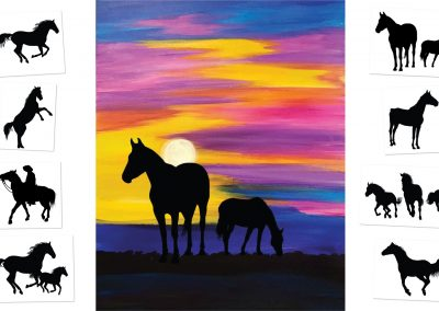 Montana Sunset - Choose your own ending (#509) • 16x20 • Tier 3