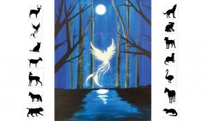Expecto Patronum - Choose your own Patronus  (#513) • Created by Tara • 16x20 • Tier 3