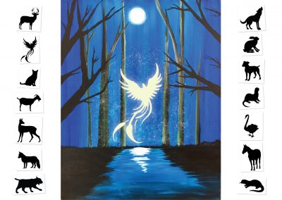 Expecto Patronum - Choose your own Patronus  (#513) • 16x20 • Tier 3
