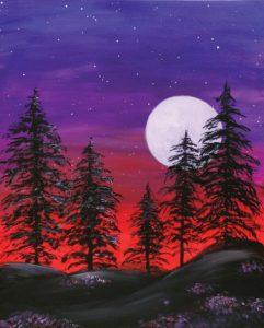 Majestic Moon (#517) • Created by Tara • 16x20 • Tier 3