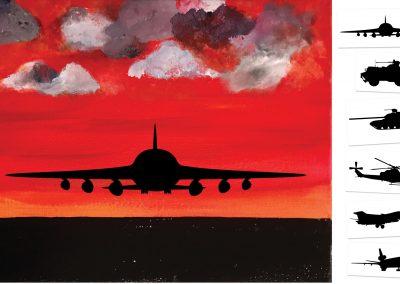 Runway - Choose your own ending -   (#512) • 16x20 • Tier 3