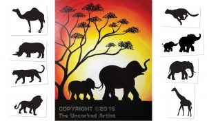 Serengeti - Choose your own ending  (#514) • Created by Tara • 16x20 • Tier 3