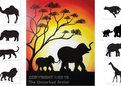 Serengeti - Choose your own ending  (#514) • 16x20 • Tier 3