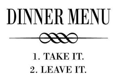 DinnerMenuTakeItLeaveIt-12x9
