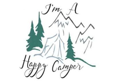 ImAHappyCamper-12x12