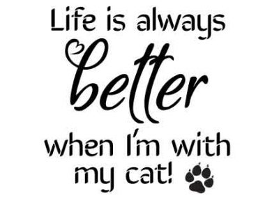 LifeIsAlwaysBetterwithMyCat-12x12