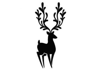 Reindeer-9x12