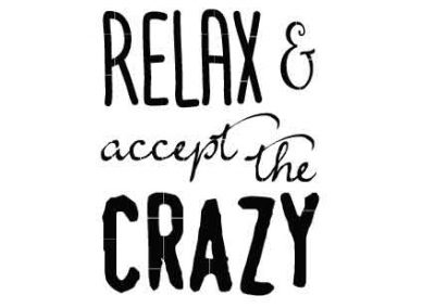 RelaxAndAcceptTheCrazy-9x12