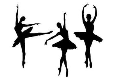 Ballerinas'12x9