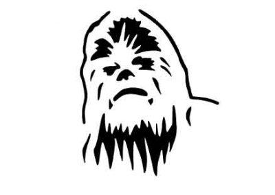 Chewbacca-9x12