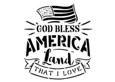 GodBlessAmerica-12x12