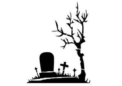 Graveyard-9x12