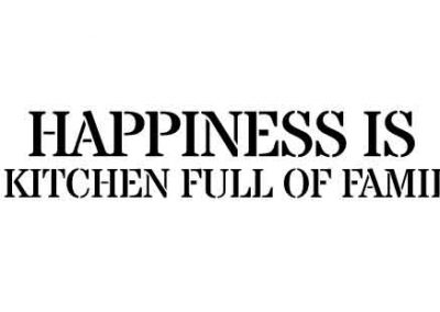 HappinessIsAKitchenFullOfFamily-24x6