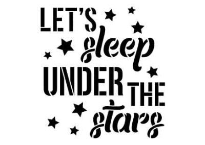 LetsSleepUnderTheStars-12x12