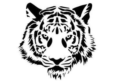TigerHead-12x12