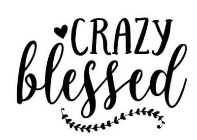 CrazyBlessed-12x9