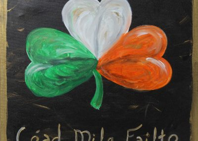 Irish Clover (#162) • Created by Mandy • Different Sayings Available • 12x12 canvas • Tier 3