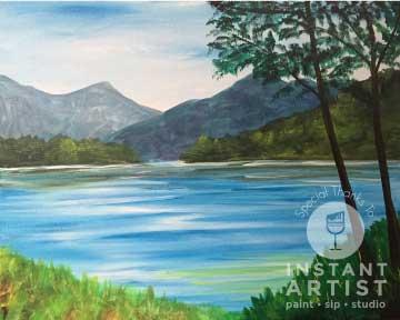 Adirondack Lake (#535) • Instant Artist • 16x20 • Tier 3