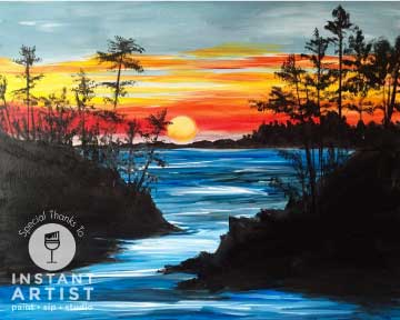 Hidden Cove (#531) • Instant Artist • 16x20 • Tier 3