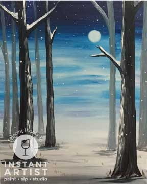Mystic Forest (#530) • Instant Artist • 16x20 • Tier 3