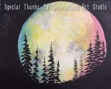 New Moon (#532) • Generations Studio • 16x20 • Tier 3