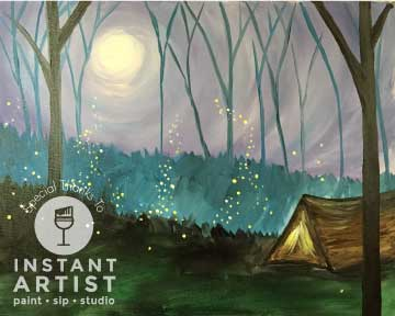 Twilight Camp (#529) • Instant Artist • 16x20 • Tier 3