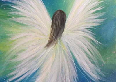 Abstract Angel (#577) • Instant Artist • 16x20 • Tier 3
