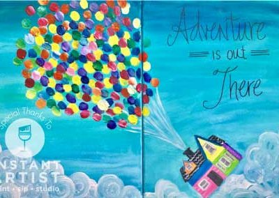 Adventure Is Out There (#534) • Instant Artist • 11x14 • Tier 3