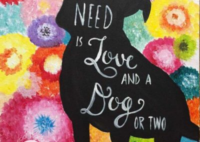 All You Need Is Love (#576) • Instant Artist • 16x20 • Tier 3