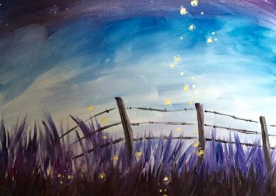 Sunset Fireflies (#573) • Instant Artist • 16x20 • Tier 3
