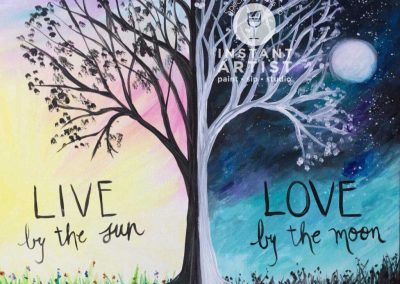 Live By The Sun  (#561) • Instant Artist • 16x20 • Tier 3