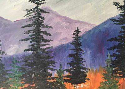 Pine Grove (#556) • Instant Artist • 16x20 • Tier 3