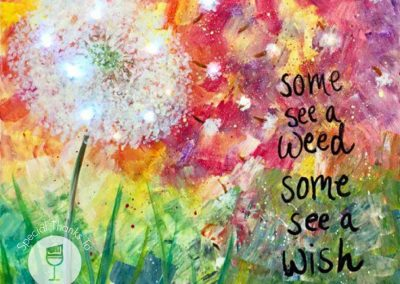 Some See A Weed  (#551) • Instant Artist • 16x20 • Tier 3