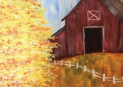 Summer Barn  (#548) • Generations Studio • 16x20 • Tier 3