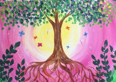 Tree Of Life Laurel  (#578) • Instant Artist • 16x20 • Tier 3